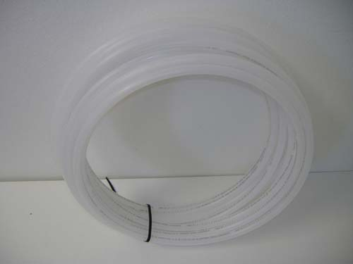 "Roll of 3/8"" OD Chemical Tubing, White"